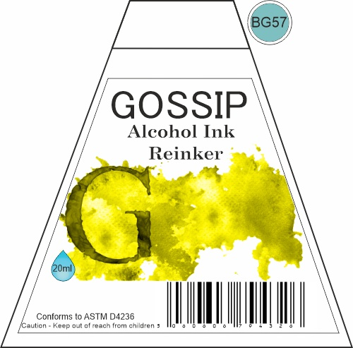 GOSSIP - ALCOHOL INK REINKER, BG57 - 271119a6