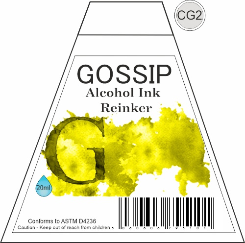GOSSIP - ALCOHOL INK REINKER, CG2 - 271119a30
