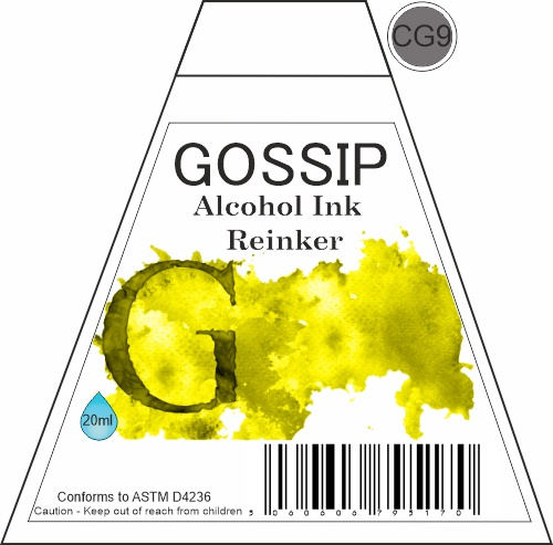 GOSSIP - ALCOHOL INK REINKER, CG9 - 271119a37