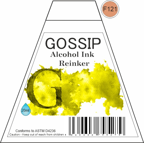 GOSSIP - ALCOHOL INK REINKER, F121 - 271119a38