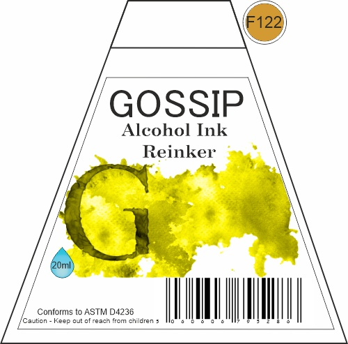 GOSSIP - ALCOHOL INK REINKER, F122 - 271119a39