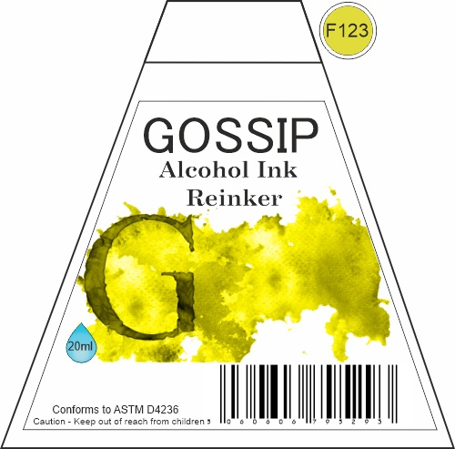 GOSSIP - ALCOHOL INK REINKER, F123 - 271119a40