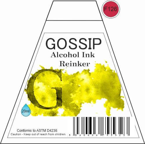 GOSSIP - ALCOHOL INK REINKER, F126 - 271119a43