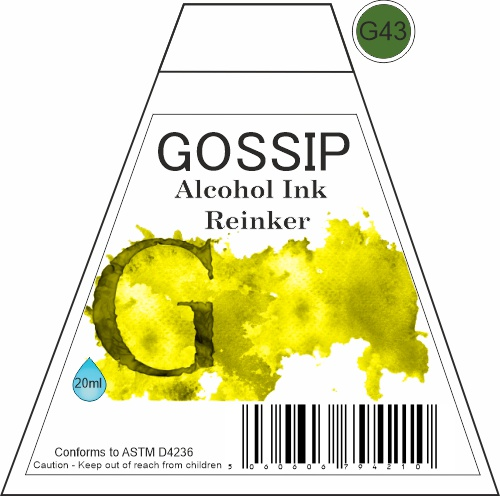GOSSIP - ALCOHOL INK REINKER, G43 - 271119a44