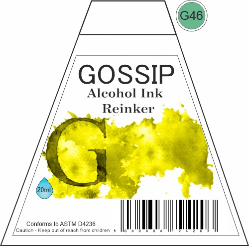 GOSSIP - ALCOHOL INK REINKER, G46 - 271119a45