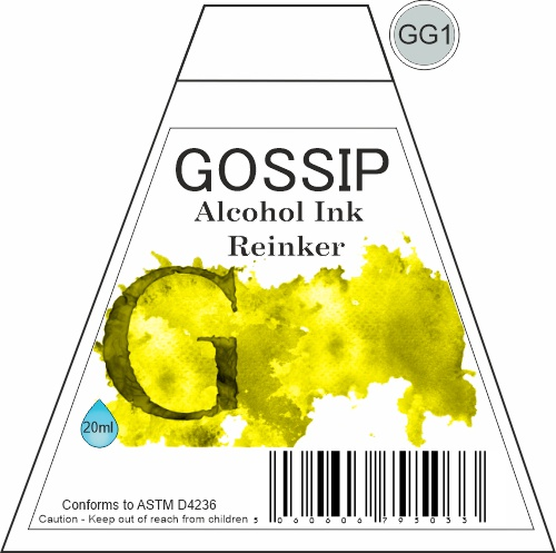 GOSSIP - ALCOHOL INK REINKER, GG1 - 271119a50