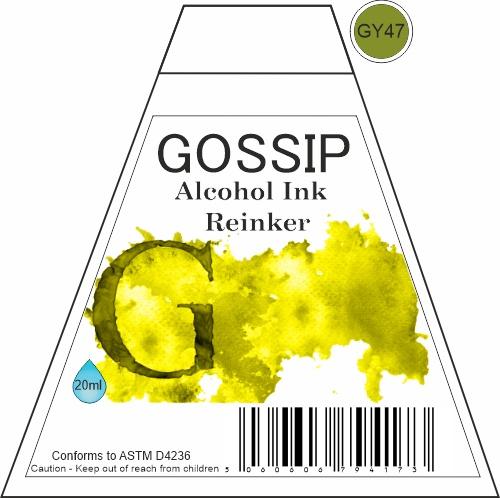 GOSSIP - ALCOHOL INK REINKER, GY47 - 271119a56