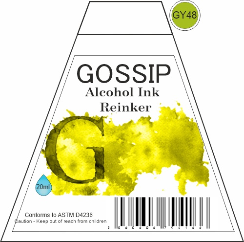 GOSSIP - ALCOHOL INK REINKER, GY48 - 271119a57