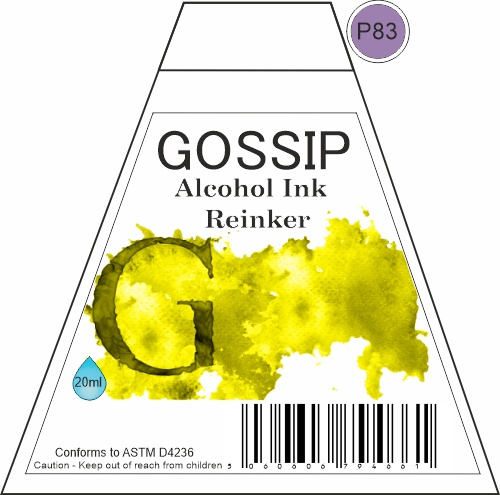 GOSSIP - ALCOHOL INK REINKER, P83 - 271119a69