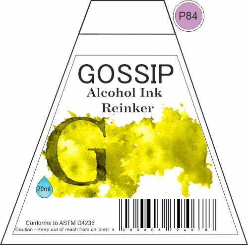 GOSSIP - ALCOHOL INK REINKER, P84 - 271119a70