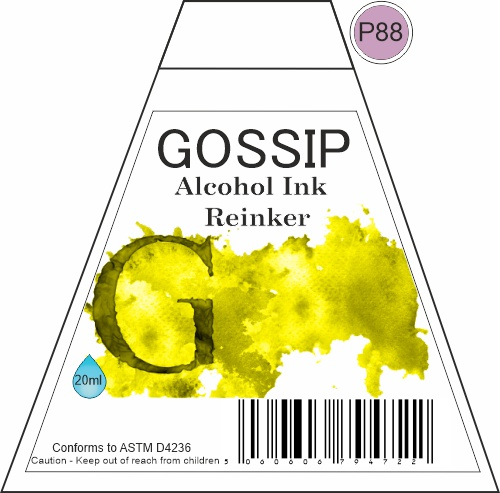 GOSSIP - ALCOHOL INK REINKER, P88 - 271119a72