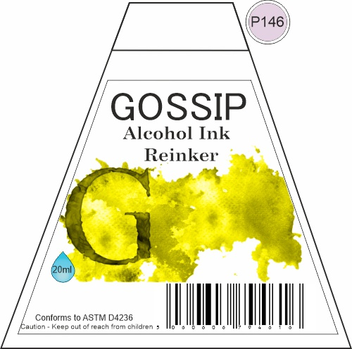 GOSSIP - ALCOHOL INK REINKER, P146 - 271119a75