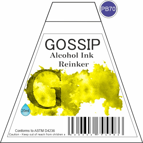 GOSSIP - ALCOHOL INK REINKER, PB70 - 271119a79