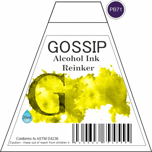 GOSSIP - ALCOHOL INK REINKER, PB71 - 271119a80