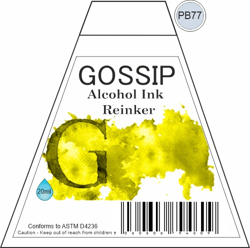 GOSSIP - ALCOHOL INK REINKER, PB77 - 271119a84