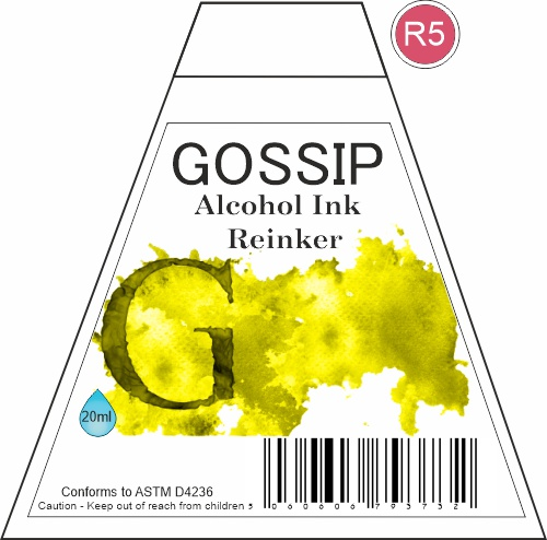GOSSIP - ALCOHOL INK REINKER, R5 - 271119a92