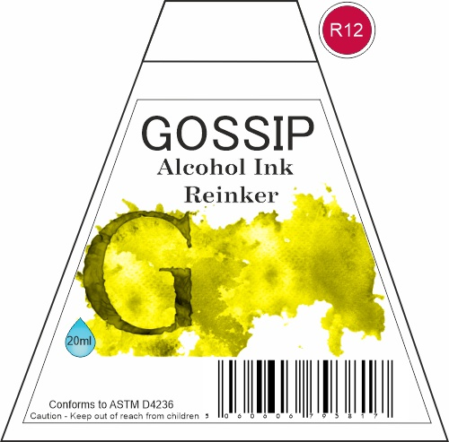 GOSSIP - ALCOHOL INK REINKER, R12 - 271119a99