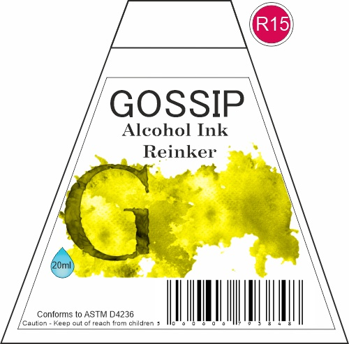 GOSSIP - ALCOHOL INK REINKER, R15 - 271119b3