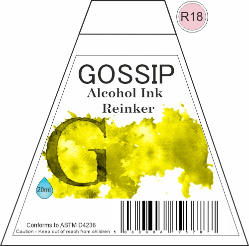 GOSSIP - ALCOHOL INK REINKER, R18 - 271119b5