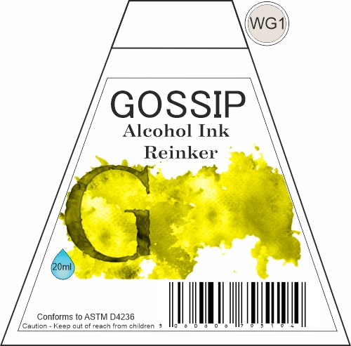 GOSSIP - ALCOHOL INK REINKER, WG1 - 271119b26