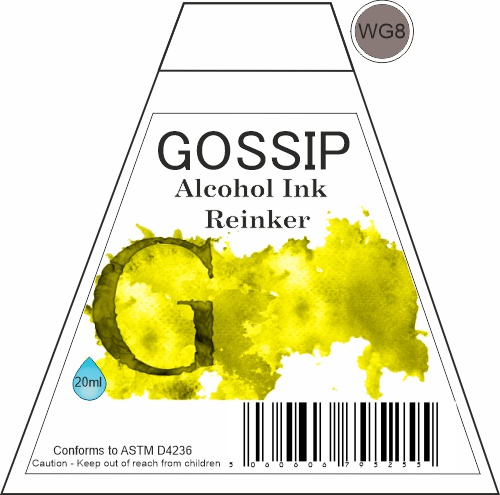 GOSSIP - ALCOHOL INK REINKER, WG8 - 271119b33