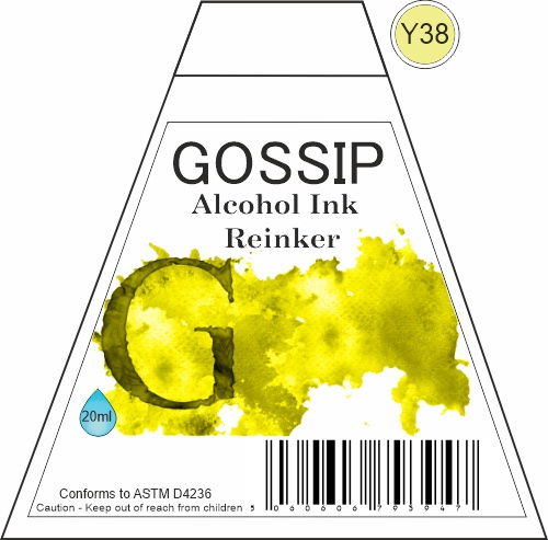 GOSSIP - ALCOHOL INK REINKER, Y38 - 271119b42
