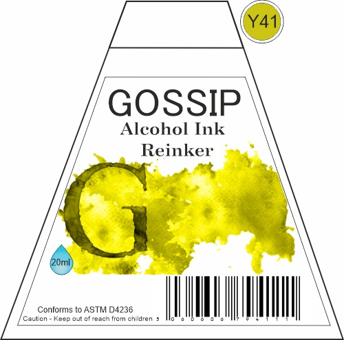 GOSSIP - ALCOHOL INK REINKER, Y41 - 271119b44