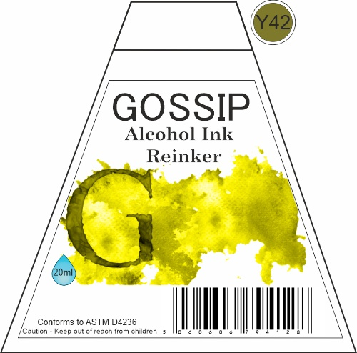 GOSSIP - ALCOHOL INK REINKER, Y42 - 271119b45