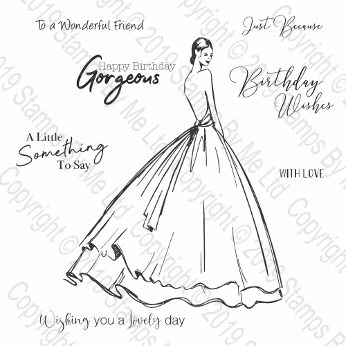 DESIGNER GOWN - A LITTLE SOMETHING TO SAY - 241219a
