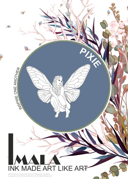 506114 - TV - IMALA - A5 STAMP - PIXIE - 260220h
