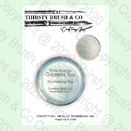 513686 - TV - THIRSTY BRUSH & CO. - CONFETTI INK - METALLIC SHIMMERING SEA - 240420p