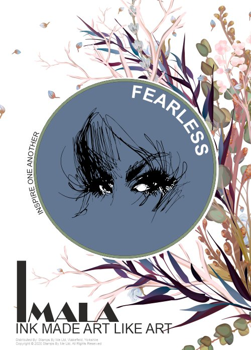 509981 - TV - IMALA - A5 STAMP - FEARLESS - 230320i
