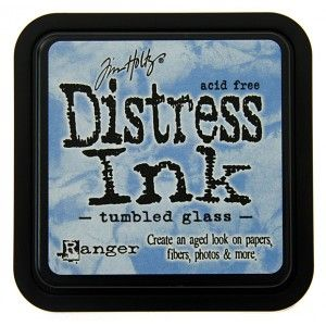 TIM HOLTZ DISTRESS INK - TUMBLED GLASS - FBL