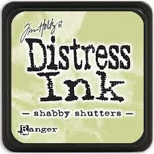 TIM NOLTZ DISTRESS INK - SHABBY SHUTTERS - FBL