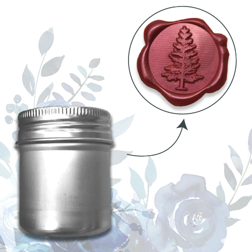 WAX SEAL 3D SELF ADHESIVE STICKERS - TREE