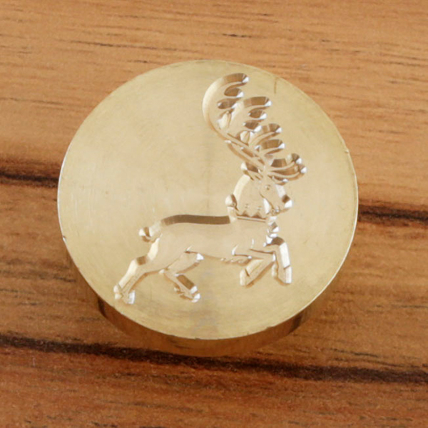 WAX SEAL BRASS HEAD - STAG - 060620h