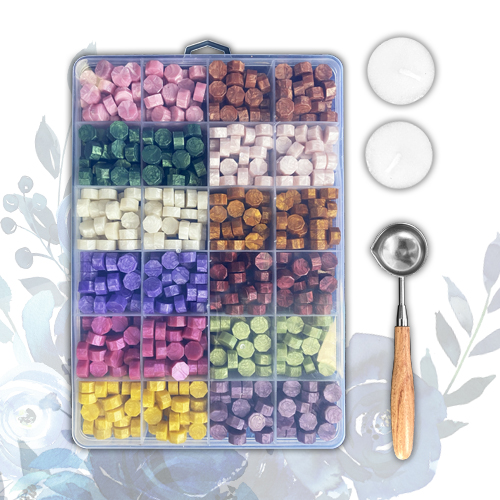 MIXED WAX BEAD COLLECTION 100620a
