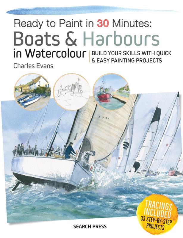 BOATS AND HARBOURS IN WATERCOLOUR