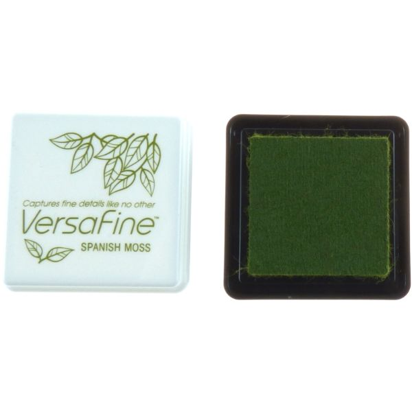 VERSAFINE MINI INK PAD - SPANISH MOSS