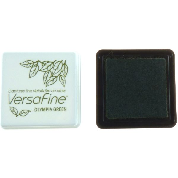 VERSAFINE MINI INK PAD - OLYMPIA GREEN