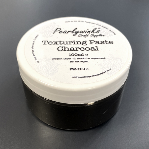 PEARLYWINKS TEXTURING PASTE 100ML - CHARCOAL