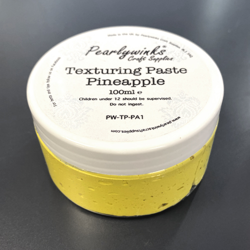 PEARLYWINKS TEXTURING PASTE 100ML - PINEAPPLE