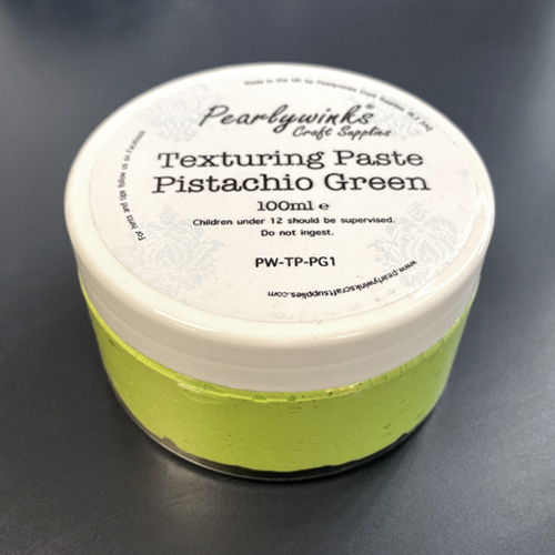 PEARLYWINKS TEXTURING PASTE 100ML - PISTACHIO GREEN