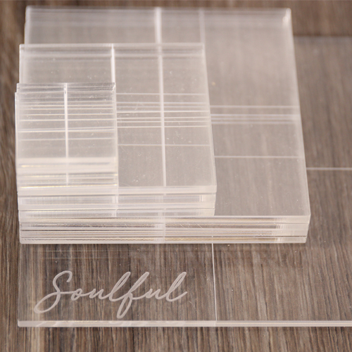SOULFUL ACRYLIC BLOCK COLLECTION