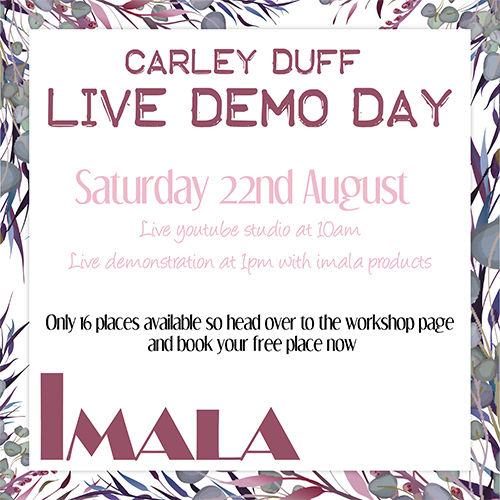CARLEY DUFF LIVE DEMO DAY - 22.08.20