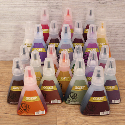 582844 - GOSSIP SPARKLE INK COLLECTION - 24 WATERCOLOUR INKS - 040920z
