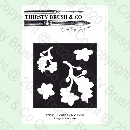 585164 - TV - THIRSTY BRUSH & CO Stencil
