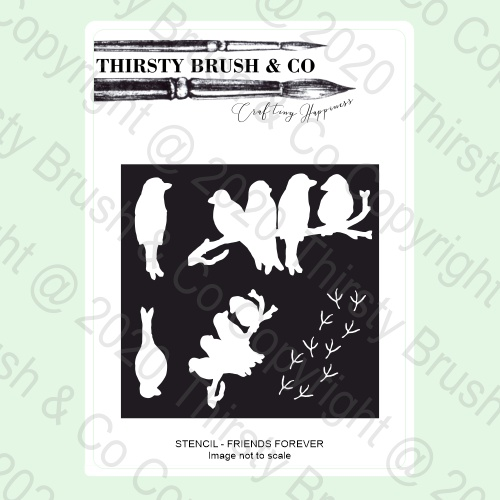 585160 - TV - THIRSTY BRUSH & CO STENCIL