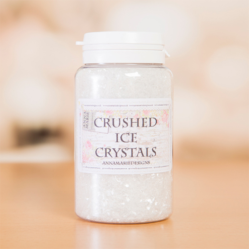 CRUSHED ICE CRYSTALS