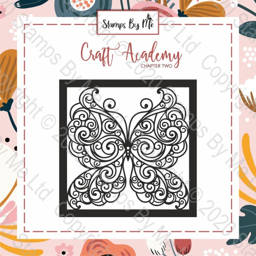 CRAFT ACADEMY CHAPTER TWO - STENCIL - BUTTERFLY
